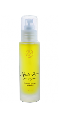 Pure huile d'argan protectrice